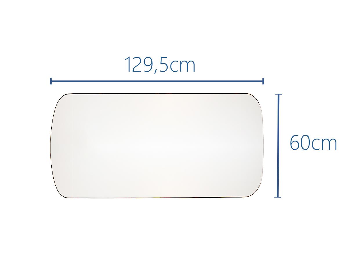 129,5x60cm