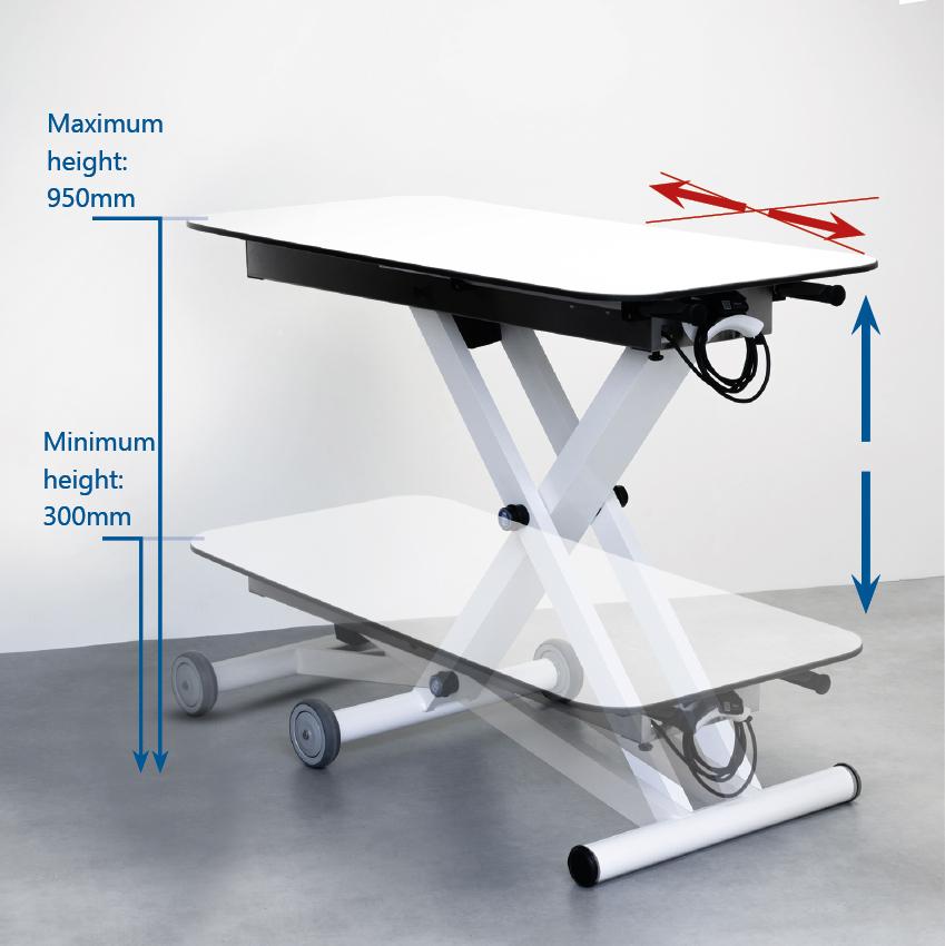 ADJUSTABLE TABLE HEIGHT