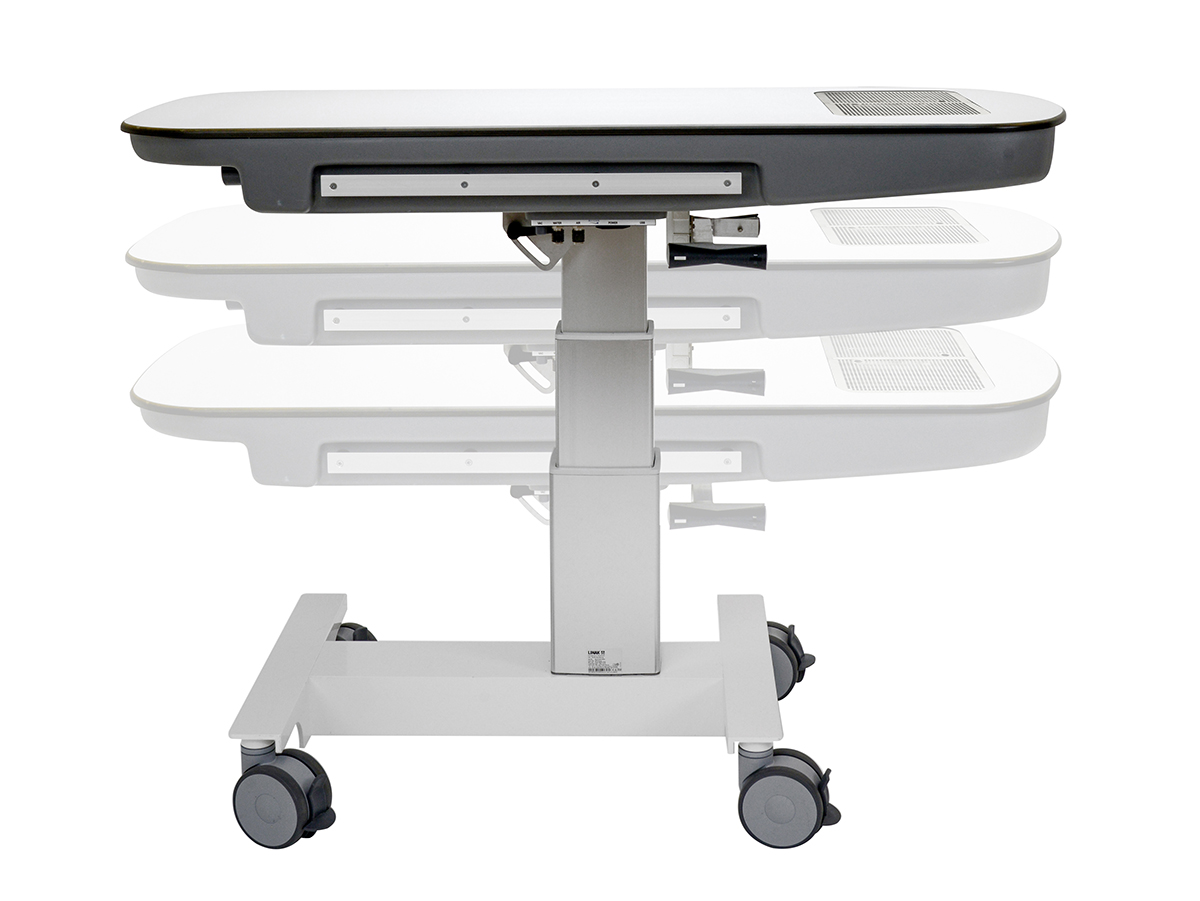 ADJUSTABLE TABLE HEIGHT
