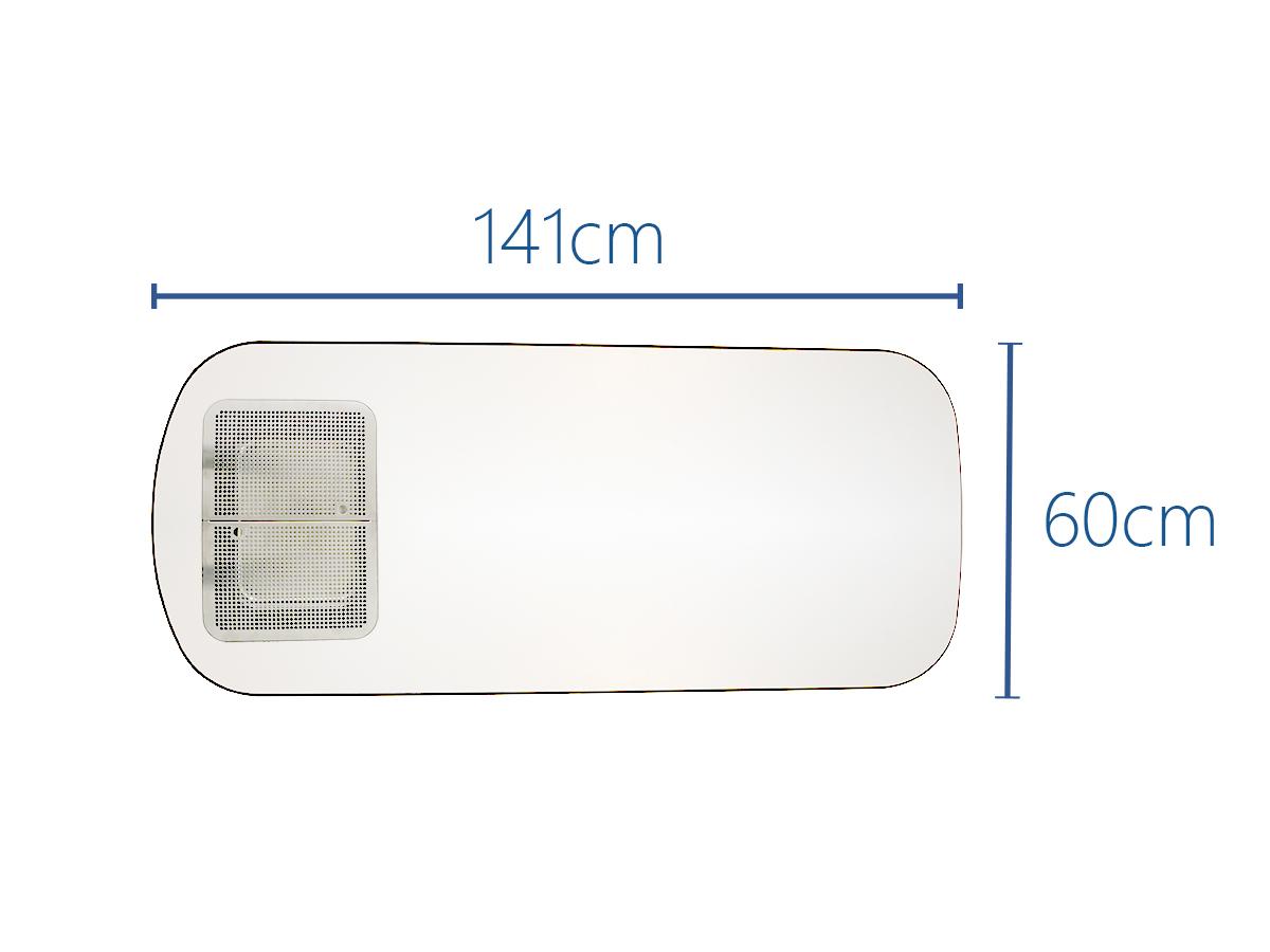 141x60cm